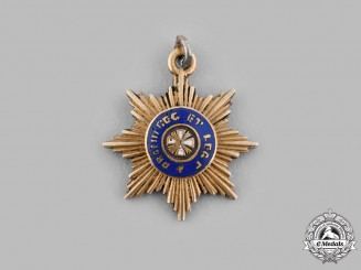 Russia, Imperial. An Order of the White Eagle, Breast Star Miniature