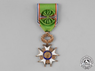 France, Republic. An Humanitarian Works Medal, Officer c.1960