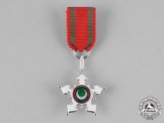 Oman, Monarchy. An Order of Oman in White Gold, Miniature Grand Cross, by Asprey & Co., c.1978