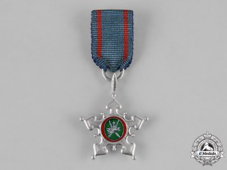 Oman, Monarchy. An Order of Oman in White Gold, Miniature Grand Cross, by Asprey & Co., c.1976