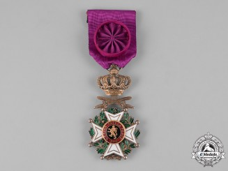 Belgium, Kingdom. An Order of Leopold, Officer with Swords, c.1918