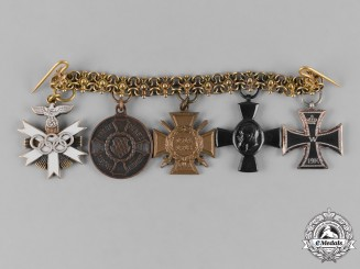 Germany, Third Reich. An Olympic Decoration Miniature Award Chain