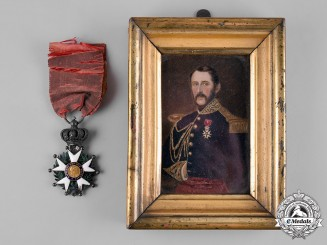France (Second Empire). A Legion D'Honneur, V Class Knight (1852-1870), Attributed to Paul-Adolphe Dieudonné Thiébault