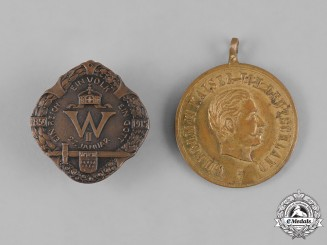 Germany, Imperial. A Pair of Badges