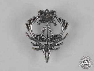Germany, Imperial. A Silver Prince Leopold of Hohenzollern Hunting Badge
