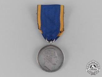 Nassau, Duchy. A Silver Civil Merit Medal, c.1860