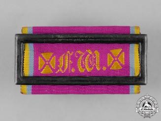 Mecklenburg-Strelitz, Duchy. A Landwehr Long Service Clasp, II Class