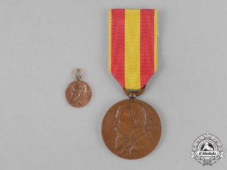 Baden, Duchy. A Pair of Friedrich I 50th Jubilee Medals
