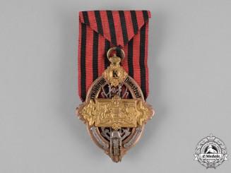 Württemberg, Kingdom. A Fire Brigade 25-Year Service Badge by Wilhelm Mayer and Fritz Wilhelm