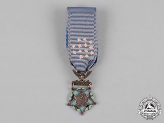 United States. A Miniature Army Medal of Honor, Type IV (1913-1944)