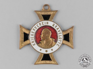 Germany, Imperial. A Gravelotte Veterans Association Cross