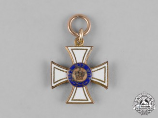 Prussia, Kingdom. An Order of the Crown, Miniature, c.1900