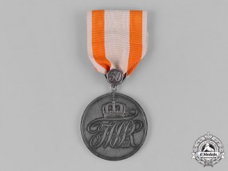 Prussia, Kingdom. A General Honour Medal, II Class, with 50 Year Clasp