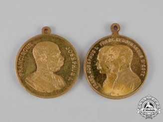 Austria, Imperial. A Pair of Army Maneuver Medals