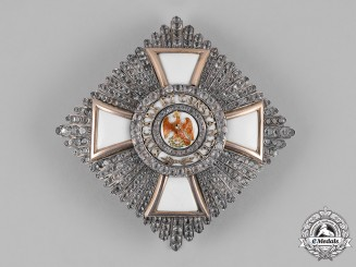 Prussia, Kingdom. A Rare Order of the Red Eagle, II Class Breast Star with Brilliance