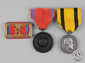 Württemberg, Kingdom. A Group of Service Medals