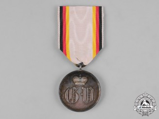 Waldeck, Principality. A Military Merit Medal, Silver Grade, c.1915