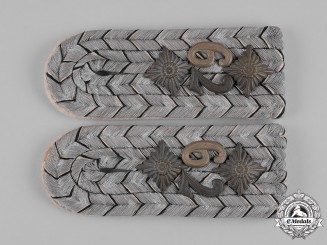 Germany, Imperial. A Set of 79th Infantry Division Hauptmann Shoulder Boards