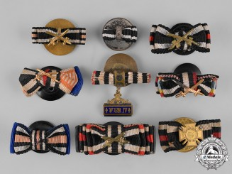 Germany, Third Reich. A Lot of Medal Ribbon Boutonnieres