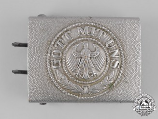 Germany, Weimar Republic. A Reichsheer EM/NCO's Belt Buckle