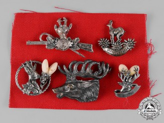 Austria, Imperial. A Lot of Austrian Hunting & Marksmanship Badges