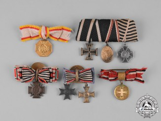Germany, Imperial. A Lot of Boutonnieres and Miniature Awards
