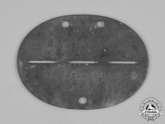 Germany, Heer. A 7th Signals Company Identification Tag
