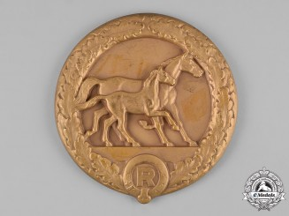 Germany, Weimar Republic. A Large Merit Medal for Distinguished Horse Breeding and Testing