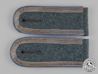 Germany, Heer. A Set of Transport Troops Unteroffizier Shoulder Straps