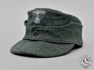 Germany, SS. A Waffen-SS EM/NCO M43 Field Cap