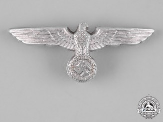 Germany, Wehrmacht. A Visor Cap Eagle Insignia