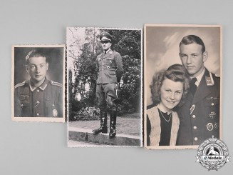 Germany, Wehrmacht. A Lot of Three Photos