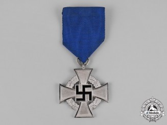Germany, Third Reich. A Civil Service Faithful Service Medal, II Class for 25 Years