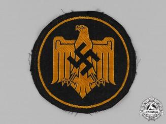 Germany, NSRL. A NSRL Sports Badge in Bronze, Cloth Version