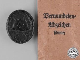 Germany, Wehrmacht. A Black Grade Wound Badge by Steinhauer & Lück