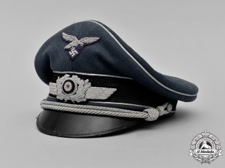 Germany, Luftwaffe. An Officer's Visor Cap, by Peküro