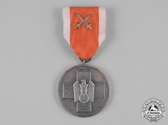 Germany, Third Reich. A Social Welfare Medal, IV Class with Swords