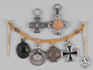 Germany, Imperial. A Miniature Chain Accompanied by Orders
