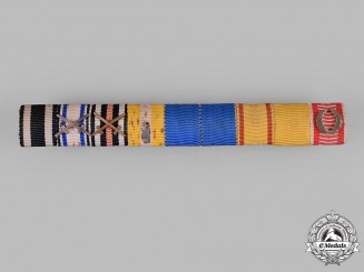 Germany, Imperial. An Extensive Medal Ribbon Bar, c.1918