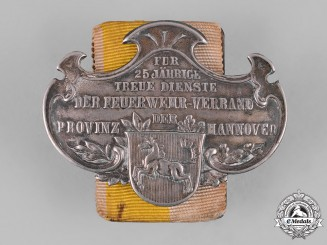 Germany, Imperial. A Hannover Fire Brigade 25-Year Long Service Clasp