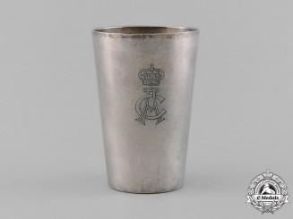 Saxony, Kingdom. An Albert of Saxony Fraternity Cup, by Wilhelm Binder, c.1880