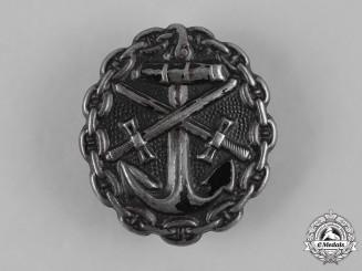 Germany, Kaiserliche Marine. A Naval Wound Badge, Black Grade