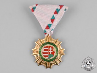 Hungary, Republic. An Order of Kossuth, III Class, c.1948