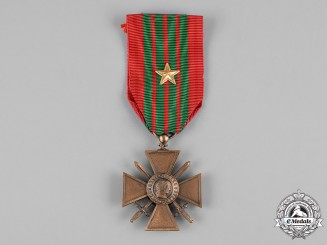 France, Third Republic. A Second War Croix de Guerre 1939-1945