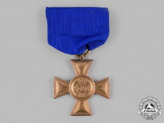 Prussia, Kingdom. A 25-Year Long Service Cross for Officers