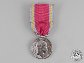 Mecklenburg-Schwerin, Grand Duchy. A Silver Merit Medal for Civil Servants, c.1900