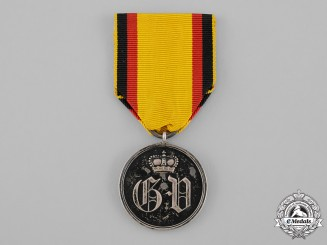 Waldeck, Principality. A Silver Merit Medal, c.1890