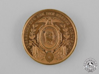 Prussia, Kingdom. A Friedrich Wilhelm IV Marksmanship Medal by Gottfried Bernhard Loos