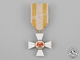 Prussia, Kingdom. An Order of the Red Eagle in Gold, III Class Cross, by Sy & Wagner, c.1885