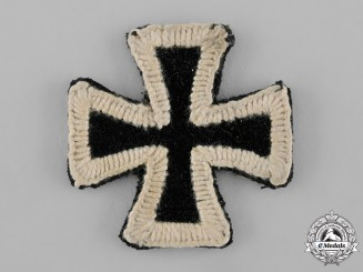 Prussia, Kingdom. An 1813 Iron Cross, Embroidered Exhibition Example